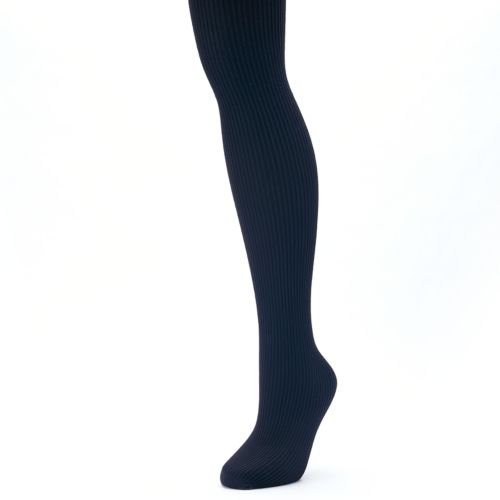 Womens Apt 9 Ribbed Knit Sweater Tights