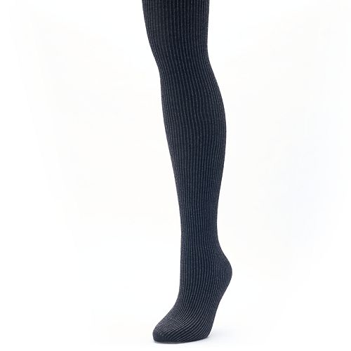 Women's Apt. 9® Ribbed Knit Sweater Tights