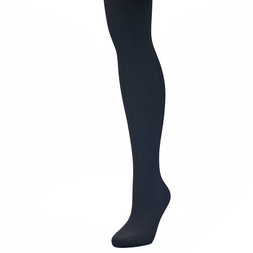 b49a8f183a1 Plus Size Apt. 9® Fleece-Lined Tights