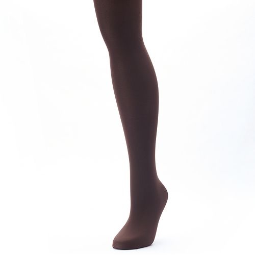 Plus Size Apt. 9® Opaque Control-Top Tights