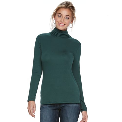 Women's Apt. 9® Turtleneck Tee