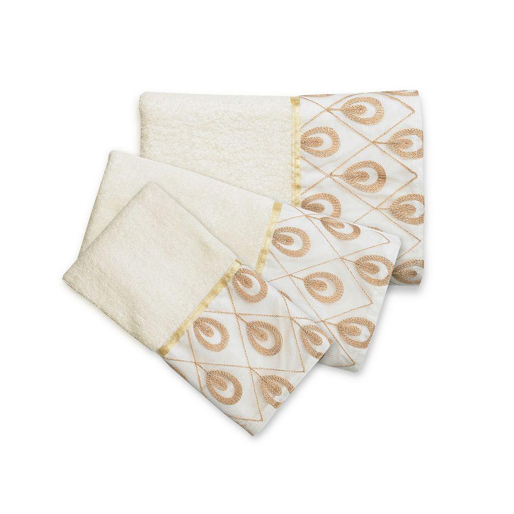 Popular Bath Seraphina 3-piece Towel Set