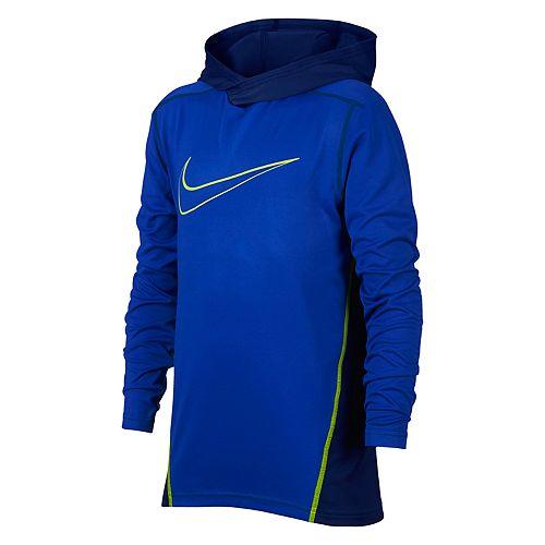 f697dfbc Boys 8-20 Nike Dri-FIT Hooded Training Top