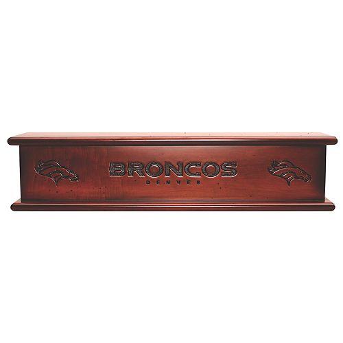 """Denver Broncos 20"""" Memorabilia Shelf"""