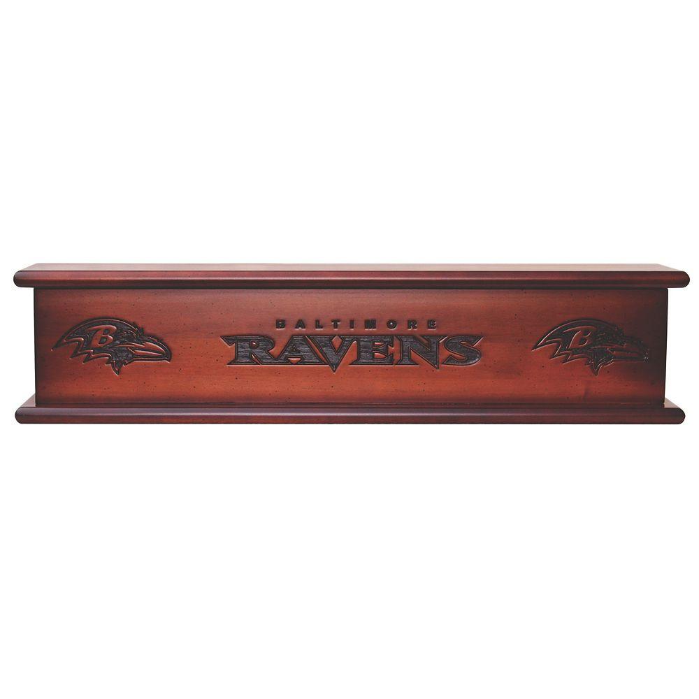 "Baltimore Ravens 20"" Memorabilia Shelf"