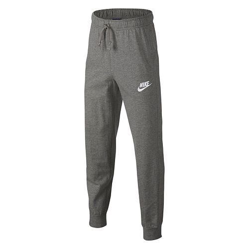 456688ddac26 Boys 8-20 Nike Jersey Jogger Pants