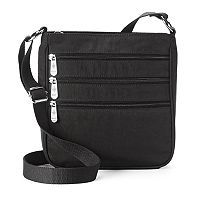 Mondo Triple Zip Crossbody Bag