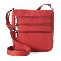 Mondo Triple Zip Crossbody Bag
