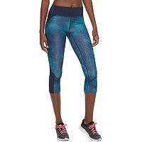 Women's Tek Gear® Performance Blocked Capri Leggings