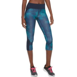 Women's Tek Gear® Performance Blocked Capri Leggings