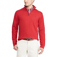 Men's Chaps Classic-Fit Cool Max Stretch Quarter-Zip Sweater