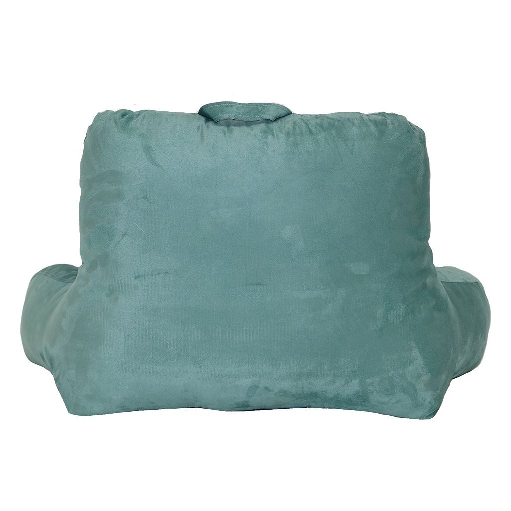 Faux Suede Backrest Pillow