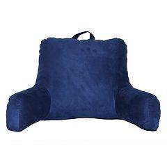 Faux Suede Backrest Pillow