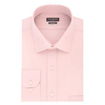 Big   Tall Van Heusen Flex Collar Regular Tall Pincord Dress Shirt f77e44f16ea1