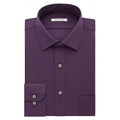 Big & Tall Van Heusen Flex Collar Regular Tall Pincord Dress Shirt