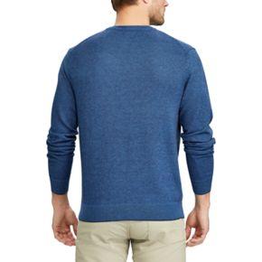 Men's Chaps Classic-Fit Birdseye Crewneck Sweater