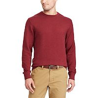 Men's Chaps Classic-Fit Birdseye Crewneck Sweater