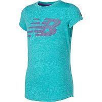 Girls 7-16 New Balance Short Sleeve Athletic Graphic Tee