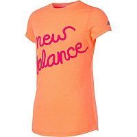 Girls 7-16 New Balance Short Sleeve Athletic Graphic Tee