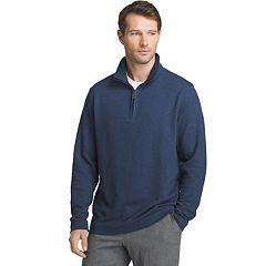 Men's Van Heusen Flex Stretch Ottoman Classic-Fit Quarter-Zip Pullover