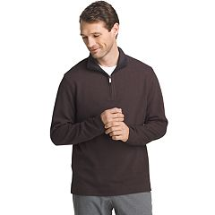 Men's Van Heusen Flex Stretch Ottoman Classic-Fit Quarter-Zip Pullover