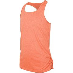 Girls 7-16 New Balance Sueded Fashion Striped Athletic Tank Top