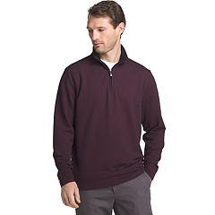 Men's Van Heusen Flex Stretch Classic-Fit Twill Quarter-Zip Pullover