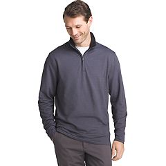 Men's Van Heusen Flex Stretch Classic-Fit Twill Quarter-Zip Pullover