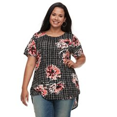 Plus Size Apt. 9® Tunic Tee