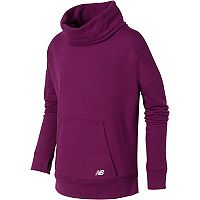 Girls 7-16 New Balance Funnel Neck French Terry Pullover