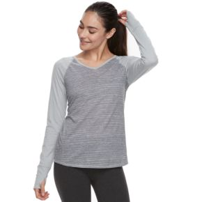 Women's Tek Gear® Printed Long Sleeve Tee
