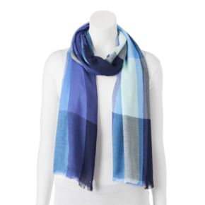 Apt. 9® Yarn Dyed Colorblock Pashmina Oblong Scarf
