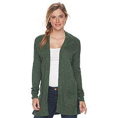 Women's SONOMA Goods for Life™ Drop-Shoulder Cardigan