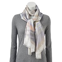 Apt. 9® Watercolor Brushstroke Pashmina Oblong Scarf