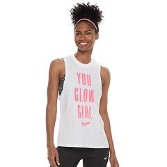 Women's Nike Dry Training 'You Glow Girl' Graphic Tank