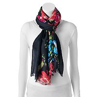 Apt. 9® Poppy Vines Pashmina Oblong Scarf