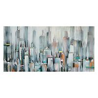 Urban Haze I Canvas Wall Art