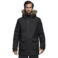Men's adidas Outdoor Xploric Faux-Fur Hooded Parka
