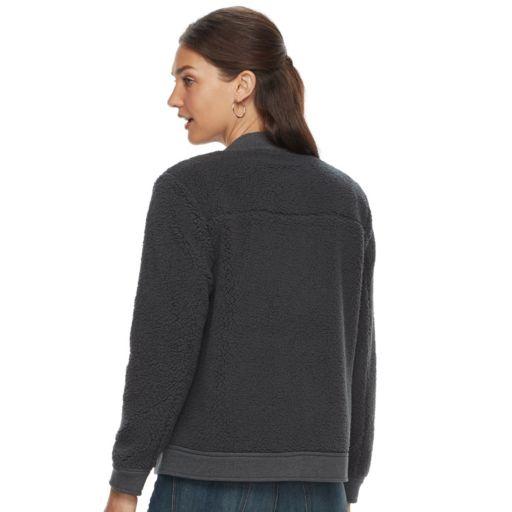 Women's SONOMA Goods for Life™ Sherpa Bomber Jacket