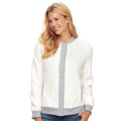 Women's SONOMA Goods for Life™ Sherpa Bomber Jacket