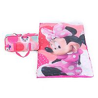 Disney's Minnie Mouse Sleeping Bag & Duffel Set