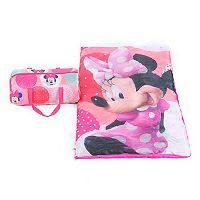Disney's Minnie Mouse Sleeping Bag & Duffel Set