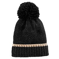 Women's SO® Ribbed Pom Pom Beanie