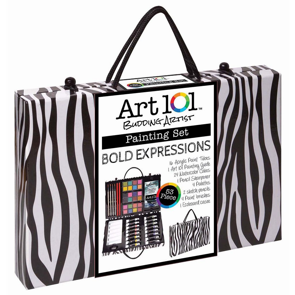 Art 101 53-pc. Expressions Painting Art Set