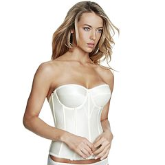 DOMINIQUE Bras: Juliette Satin Corset Bridal Bra 8950