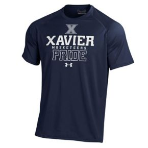 Men's Under Armour Xavier Musketeers Tech Tee