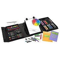 Art 101 78-pc. Tri-Fold Art Set