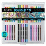 Art 101 36-pc. Doodle It PVC Art Set