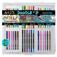 Art 101 36 pc Doodle It PVC Art Set