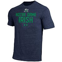 Men's Under Armour Notre Dame Fighting Irish Triblend Tee